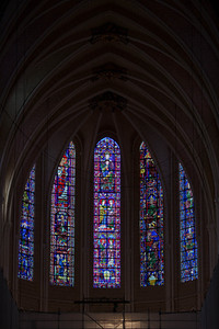 Chartres Cathedral The Choir Clerestory Windows