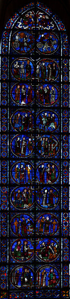 Chartres Cathedral, The Lives of Saint Simon and Saint Jude