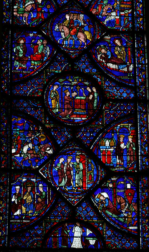 Chartres Cathedral - The Charlemagne Window