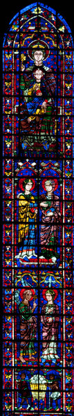 Chartres Cathedral, The Choir Clerestory Window