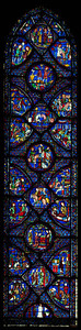 Chartres Cathedral, The Charlemagne Window