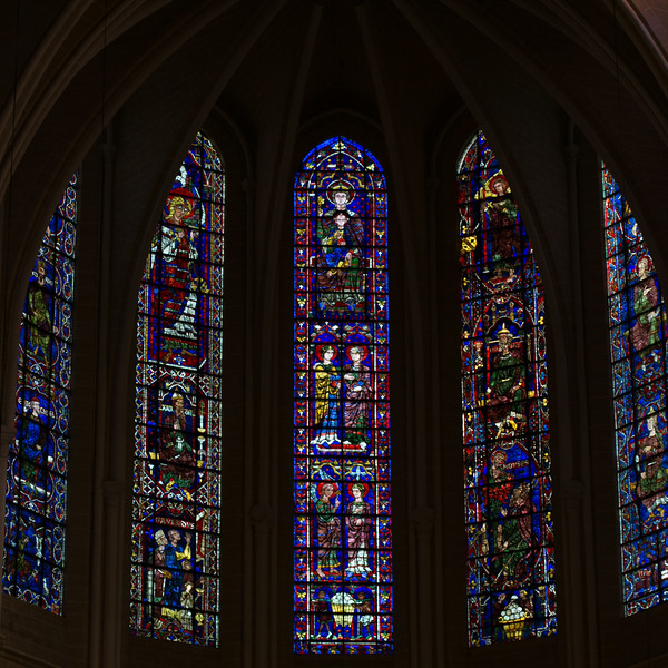Chartres Cathedral Choir Clerestory Windows (12C)