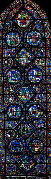 Chartres Cathedral, The Story of St Eustache
