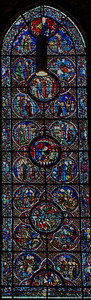 Chartres Cathedral - The Story of Saint-Lubin (13C)