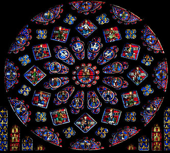 Chartres Cathedral - South Rose Window