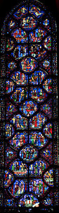 Chartres Cathedral -  Saint-Sylvester Window