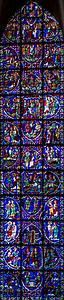 Chartres Cathedral Apostles Window