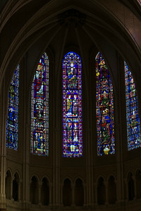 Chartres Cathedral Choir Clerestory Windows