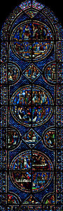 Chartres Cathedra, The Saint-Mary Magdalen Window
