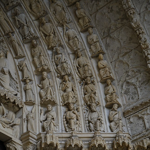 Chartres Cathedral North Porch Archivolt
