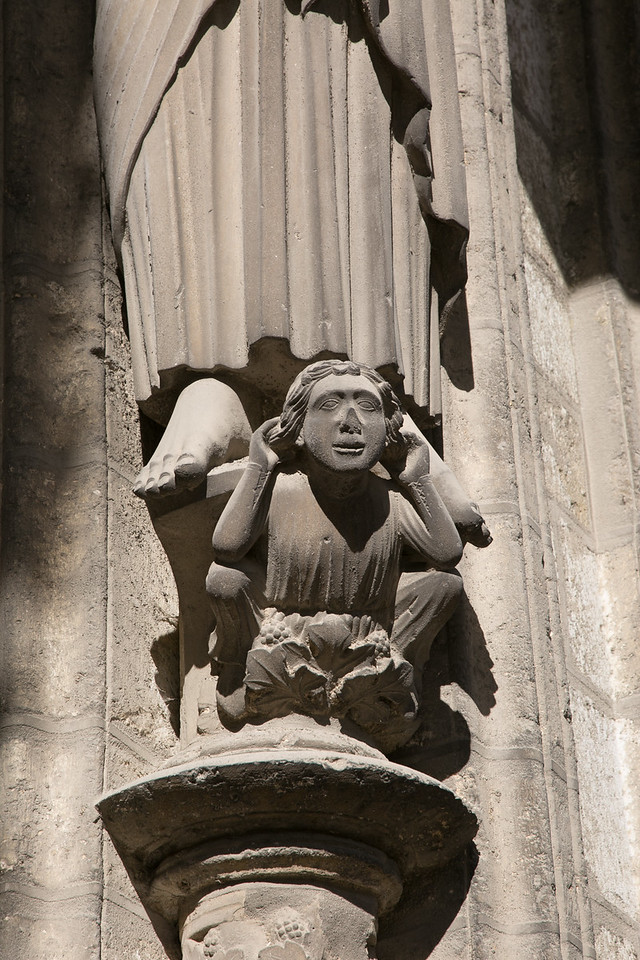 Chartres Cathedral South Porch Figure