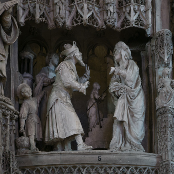 Chartres Cathedral Choir Enclosure, The Presentation of The Virgin