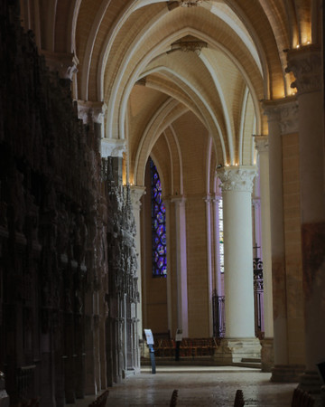 Chartres Cathedral Ambulatory Aisle