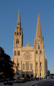 Chartres , Notre-Dame Cathedral  West Facade