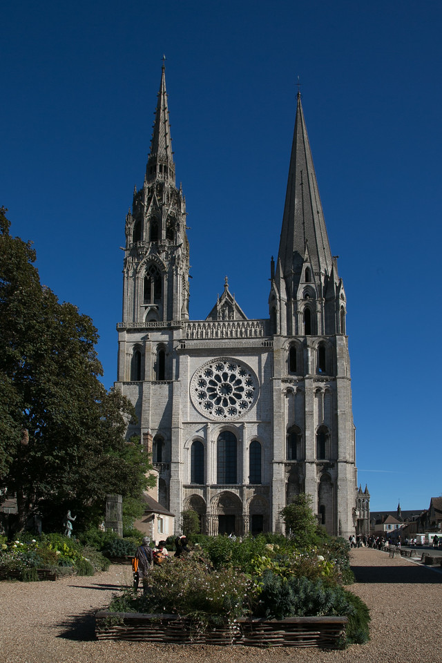 Chartres Cathedral West Facade
