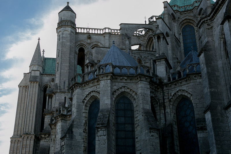 Chartres Cathedral Flying Buttresses