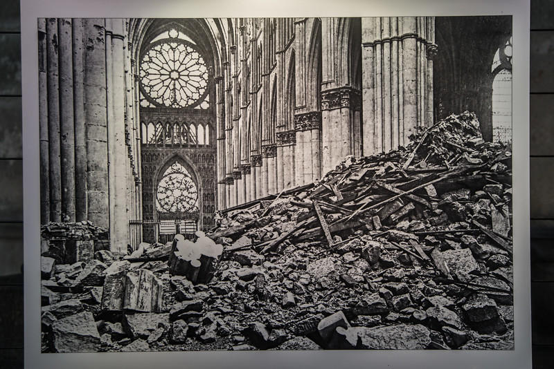 Reims Cathedral World War I Destruction