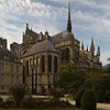 Reims Cathedrall Bishop's Chapel and Chevet