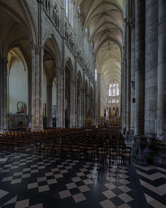 Amiens, Notre-Dame Cathedral Nave and Choir