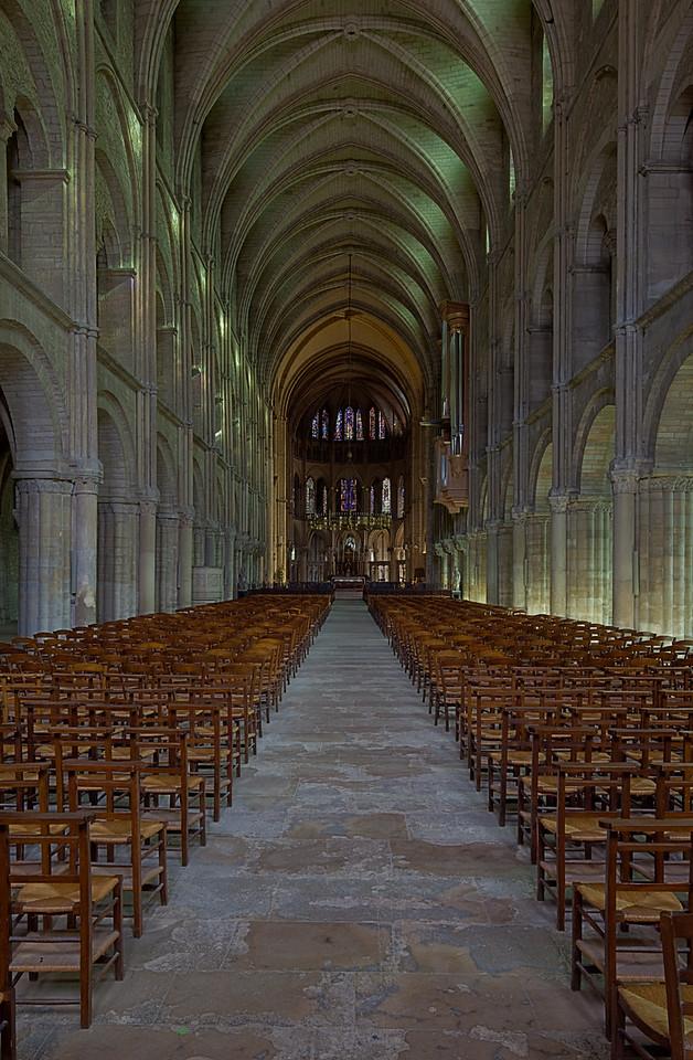Reims, Saint-Remi Basilica Nave and Choir