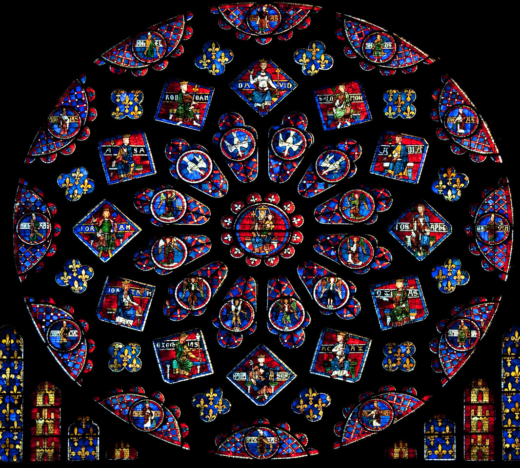 Chartres Notre Dame Cathedral South Rose Window