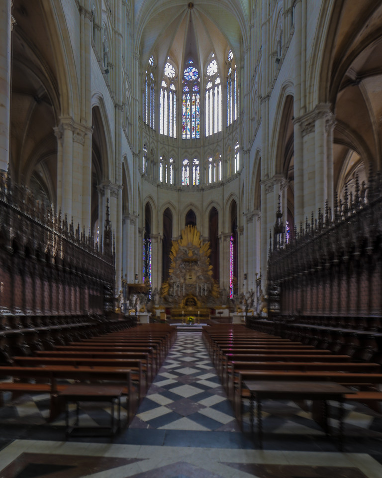 Amiens, Notre-Dame Cathedral Choir