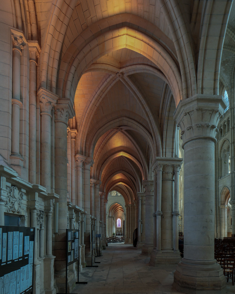 Laon Cathedral of Notre-Dame Aisle