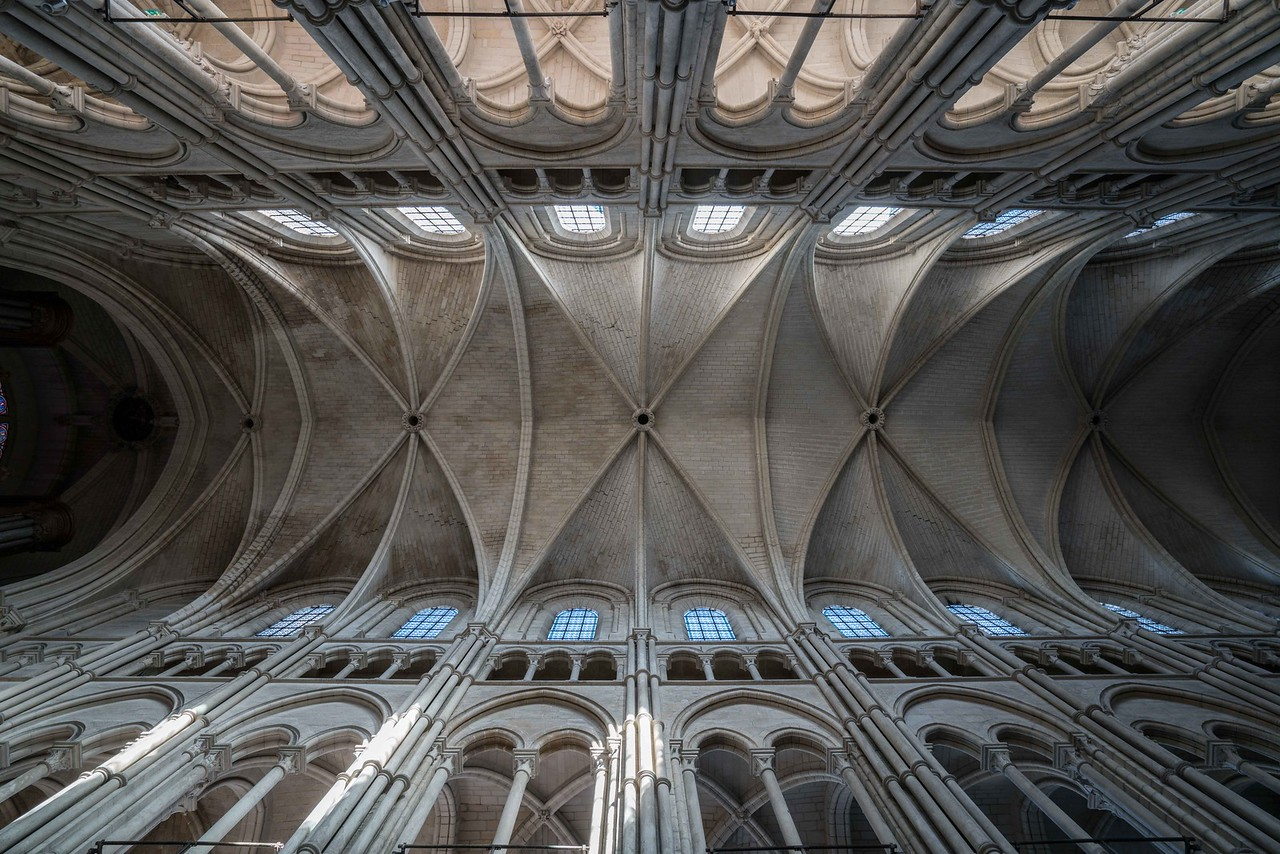 Laon Cathedral of Notre-Dame Nave Vaults