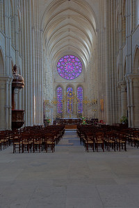 Laon Cathedral - Nave & Choir