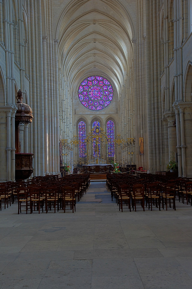 Laon Cathedral of Notre-Dame Choir