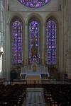 Laon Cathedral - Altar & Lancet Windows