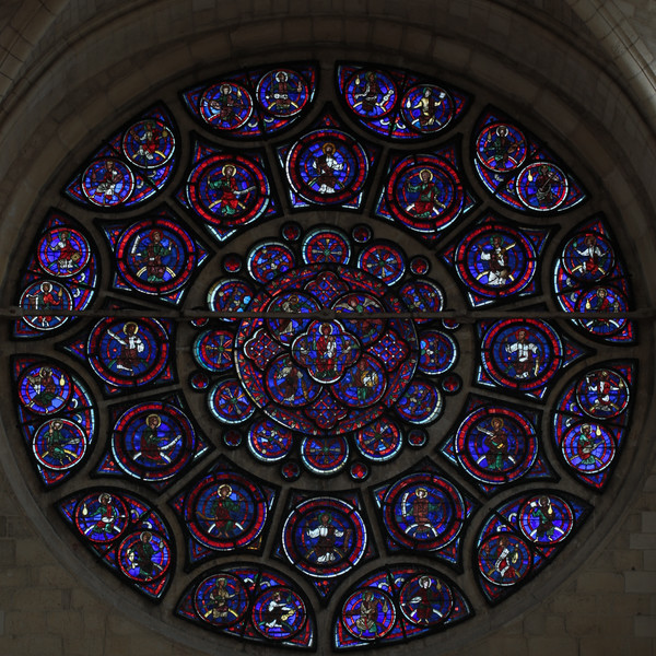 Laon Cathedral of Notre-Dame Eastern Rose Window