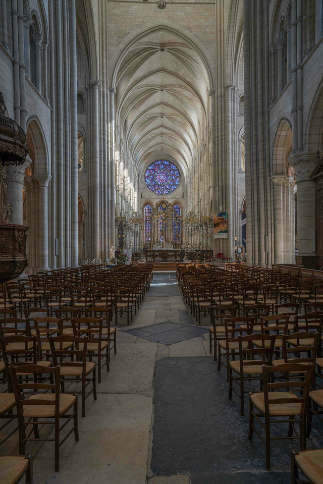 Laon Cathedral of Notre-Dame Nave and Choir