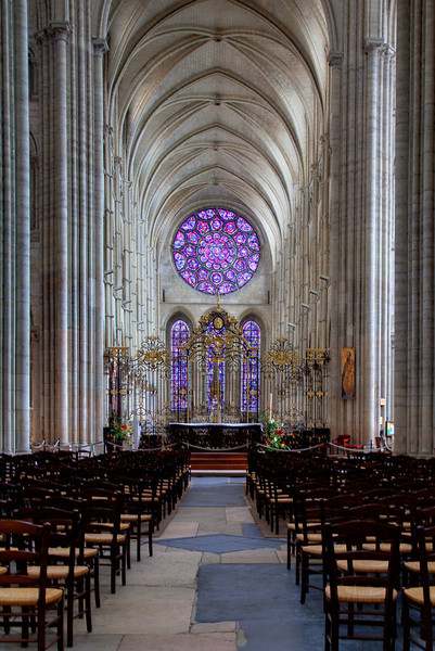 Laon, Notre-Dame Cathedral Choir