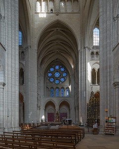 Laon Cathedral of Notre-Dame North Rose Window