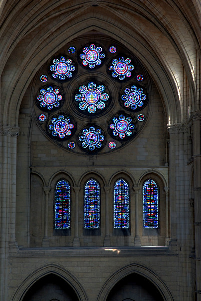Laon NotreDame Cathedral North Rose Window
