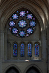 Laon Cathedral - North Transept Rose Window