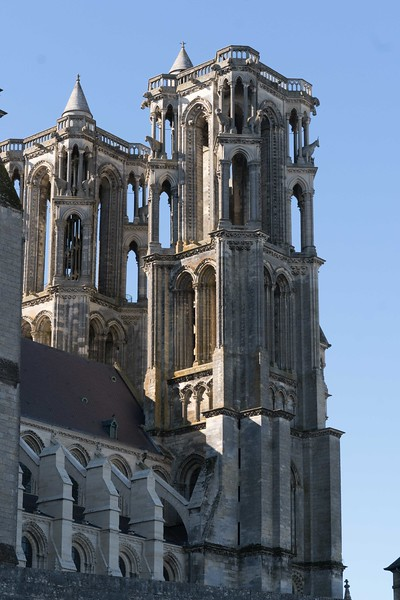 Laon Cathedral of Notre-Dame Towers