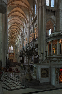 Noyon Cathedral Nave