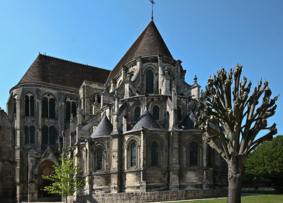 Noyon Cathedral of Notre-Dame Chevet