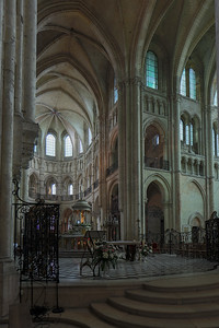 Noyon Cathedral Crossing and Choir