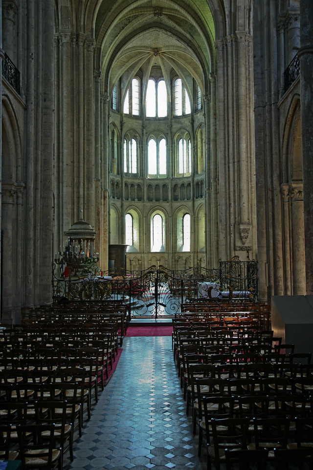 Noyon Cathedral of Notre-Dame South Transept