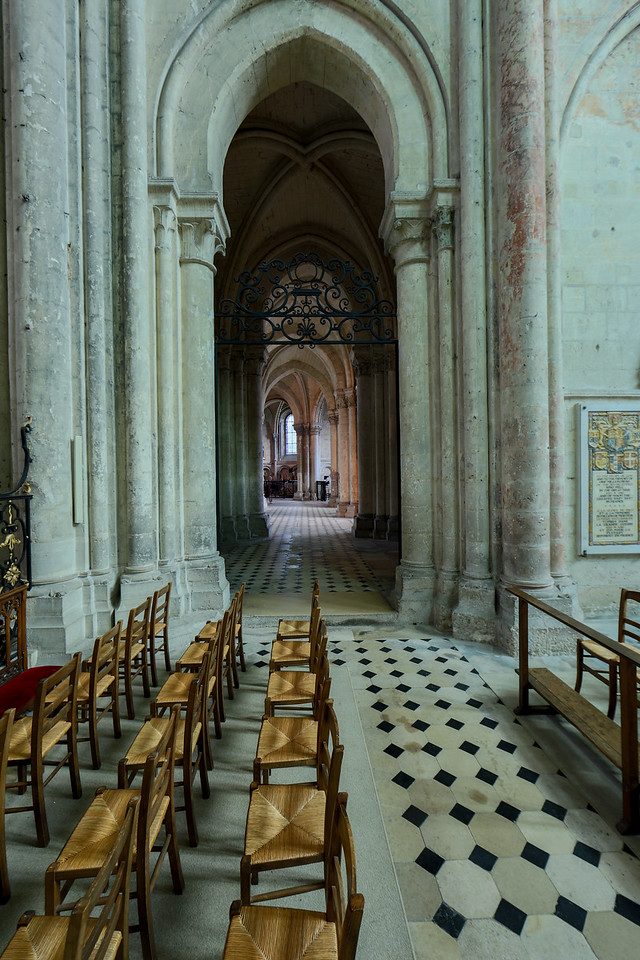 Noyon Cathedral Ambulatory Aisle