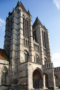 Noyon Cathedral of Notre-Dame West Facade