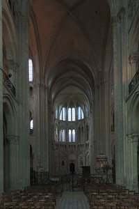 Noyon Cathedral North Transept