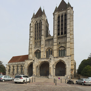 Noyon Cathedral West Facade