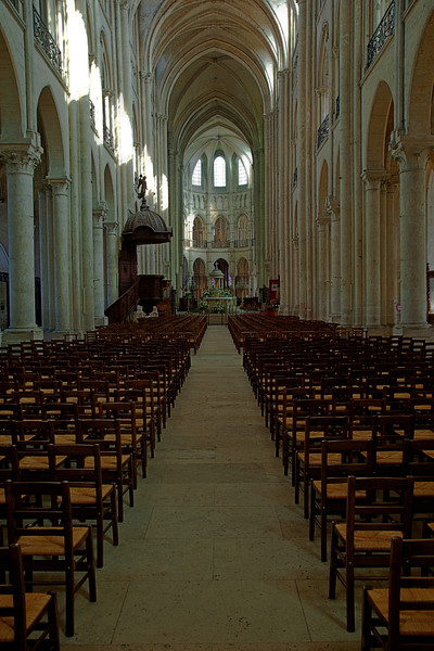 Noyon Cathedral of Notre-Dame Nave and Choir