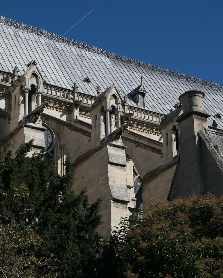 Paris, Notre-Dame Cathedral Buttresses