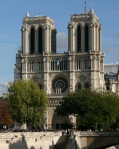 Paris, Notre-Dame Cathedral West Facade