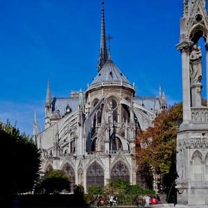 Paris, Notre-Dame Cathedral  Chevet